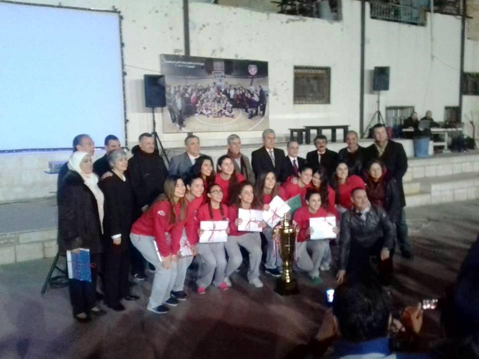 نادي الثورة يكرّم سيدات سلته بطلات كأس الجمهورية