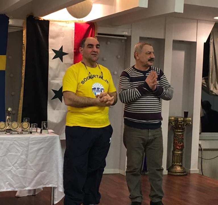 بطولة السلام السورية الأولى بكرة الطاولة في السويد