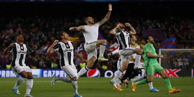 يوفنتوس يبدد آمال برشلونة ويتأهل إلى الدور قبل النهائي في دوري أبطال أوروبا