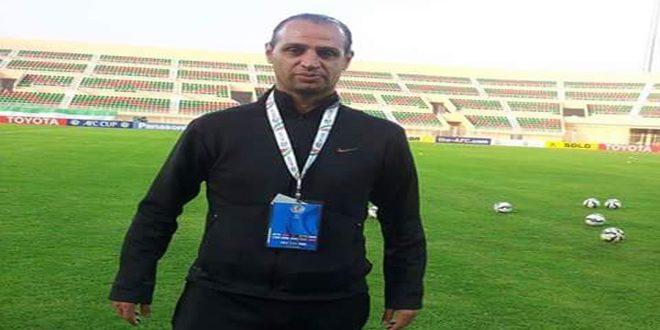 إياد عبد الكريم مدربا لفريق جبلة لكرة القدم للرجال