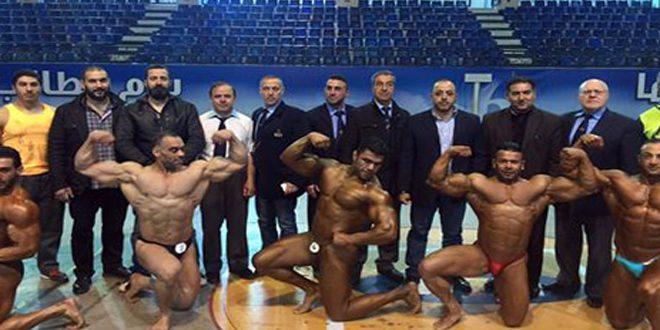 منتخب سورية لبناء الأجسام يشارك في بطولة البحر المتوسط بالجزائر
