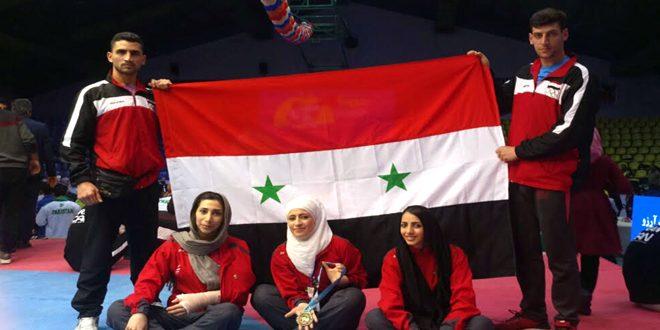خوندة تحرز برونزية وزن فوق 67 كغ في بطولة الفجر الدولية للتايكواندو بإيران