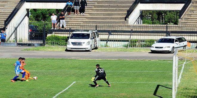 فوز الوحدة على النواعير في مباراة مؤجلة من الدوري الممتاز لكرة القدم