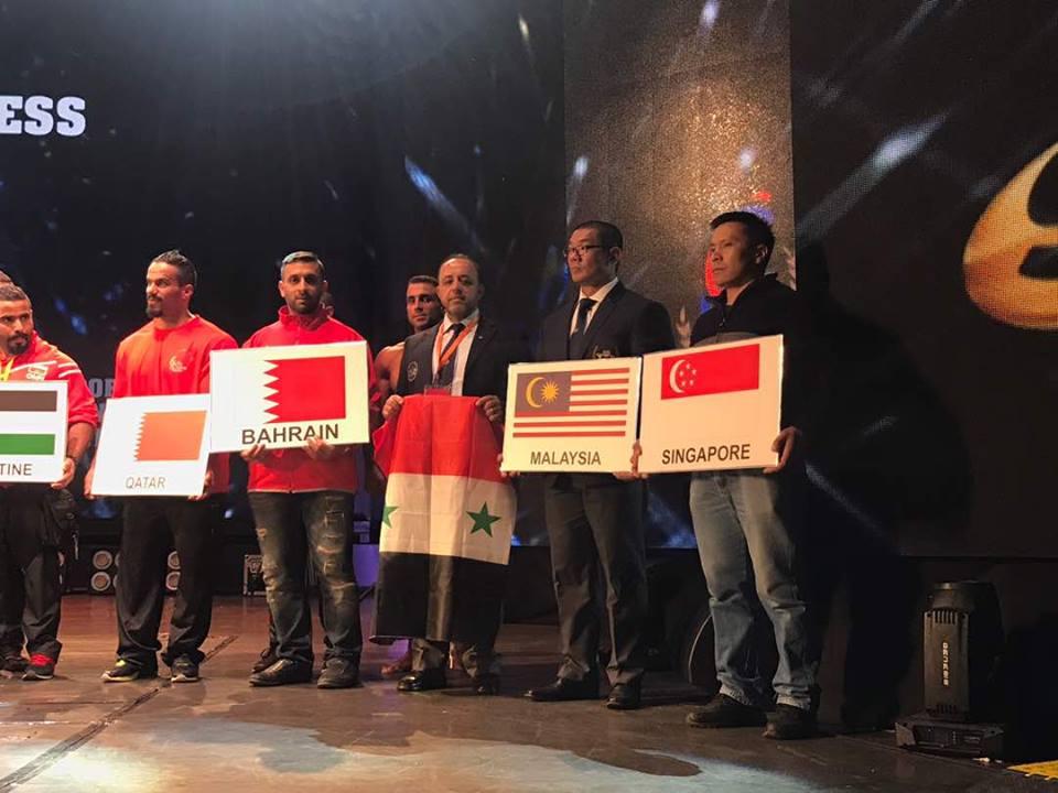 تميز واضح لمنتخب سورية لبناء الأجسام في بطولة آسيا بعد تألقه في بطولة المتوسط