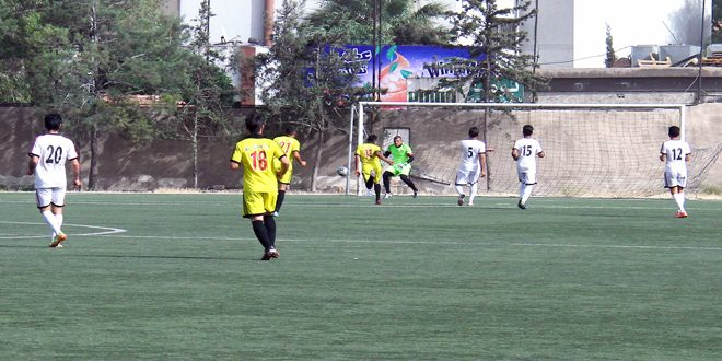 حرفيو حلب والجهاد والعربي يتنافسون على بطاقتي التأهل إلى الدوري الممتاز لكرة القدم