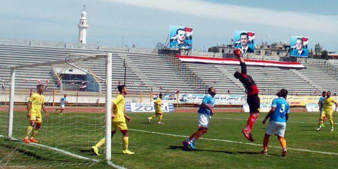 الجيش يلتقي النواعير في الدوري الممتاز لكرة القدم وعينه على الفوز للابتعاد بالصدارة