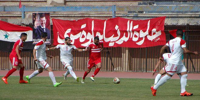 الجيش يتصدر ترتيب الدوري الممتاز لكرة القدم بفوزه على الوثبة