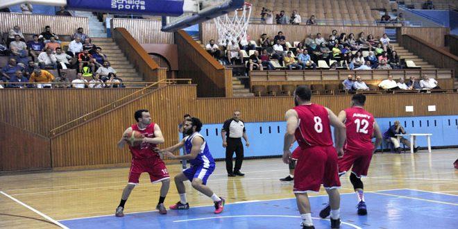 فوز الجيش والوحدة في ذهاب نصف نهائي دوري كرة السلة للرجال