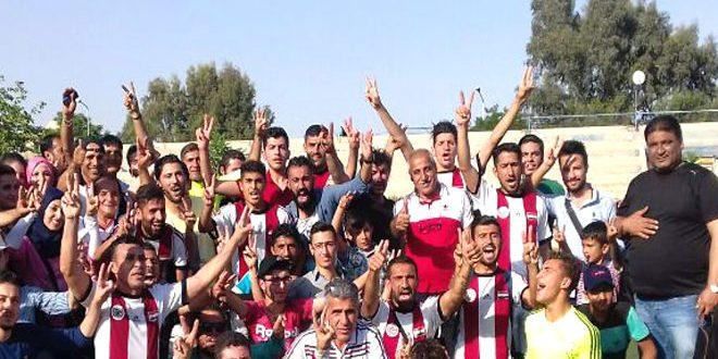 الجهاد وحرفيو حلب يتأهلان بجدارة الى الدوري الممتاز لكرة القدم