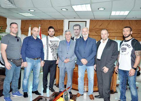بطولة دولية للكيك بوكسينغ في سورية خلال أب القادم