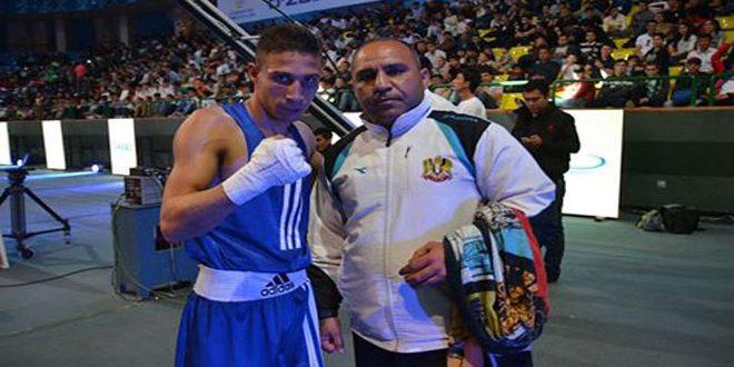 لاعبا منتخب سورية أسعد والمصري يتأهلان لربع نهائي منافسات الملاكمة بدورة ألعاب التضامن الإسلامي