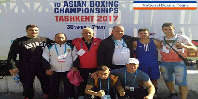 الملاكمة السورية تثبت تميزها في بطولة آسيا وتحجز أربعة مقاعد في بطولة العالم