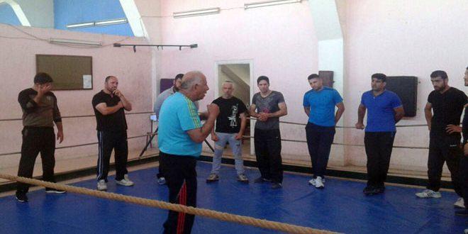تواصل الدورة المركزية لصقل وترقية مدربي الملاكمة في اللاذقية