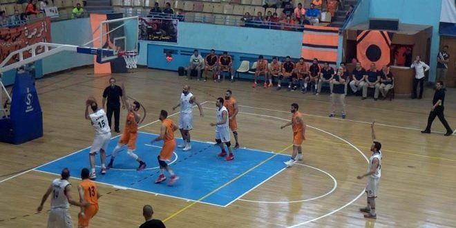 فريق الجيش يؤجل حسم لقب دوري كرة السلة للرجال بعد فوزه على الوحدة