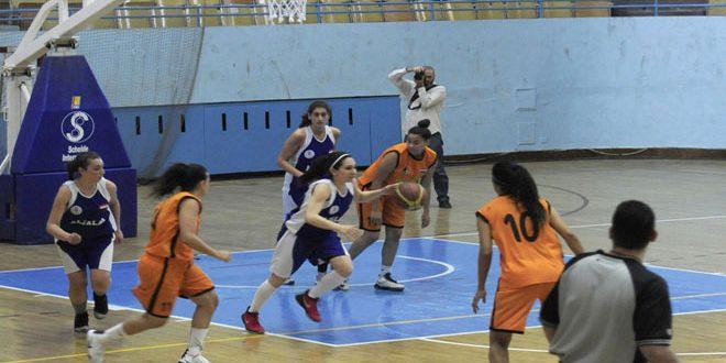 تواصل منافسات بطولة كأس الجمهورية لكرة السلة للسيدات