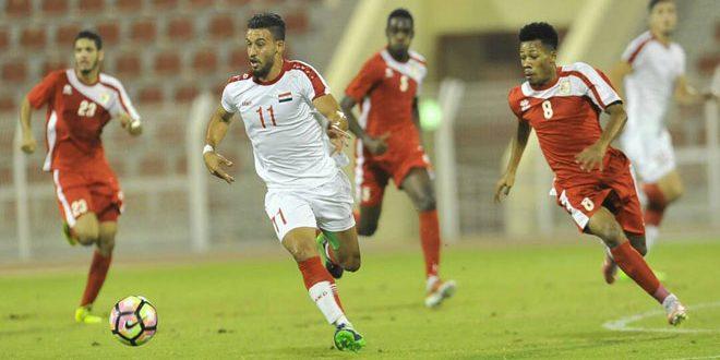 منتخب سورية الأولمبي لكرة القدم يخسر أمام نظيره العماني وديا