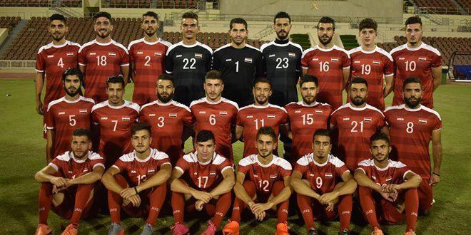منتخب سورية الأولمبي يخسر أمام نظيره العراقي وديا