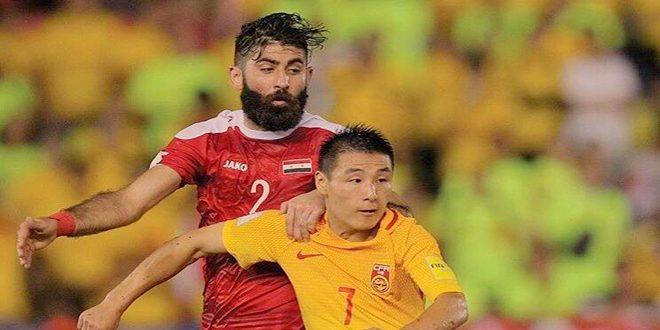 قائد منتخب سورية لكرة القدم: لن نتهاون في تحقيق حلم جماهيرنا بالتأهل إلى مونديال روسيا