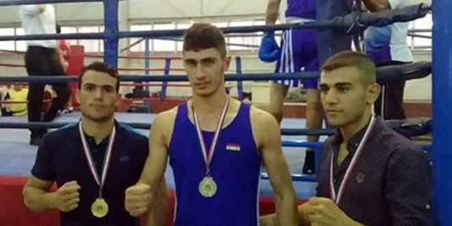 منافسات قوية في بطولة دمشق الدولية المصغرة للملاكمة
