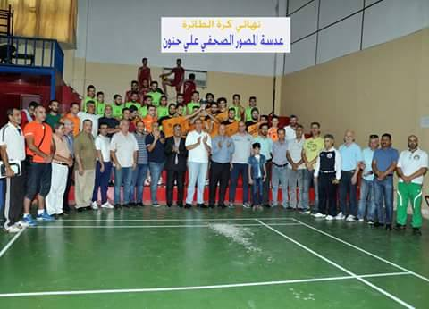 شباب نادي الوحدة يحصدون لقب دوري الكرة الطائرة