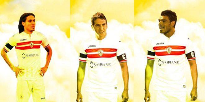 ثلاثة لاعبين سوريين في صفوف فريق الزمالك المصري لكرة القدم