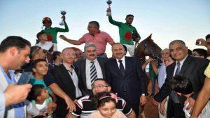 الجمعية السورية للخيول العربية الأصيلة تقيم السباق الدوري الرابع