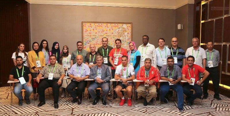اللواء جمعة للوفد الإعلامي الرياضي في عشق أباد: أدعوكم لزيارة سورية  ونحن جاهزون  لاستضافة دورة ألعاب عربية