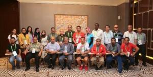 500 اعلامي يطلقون مشروع انشاء نادي الإعلام الدولي للاعلام الرياضي