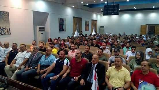 دورة لتأهيل كوادر بناء الأجسام والقوة البدنية في حلب
