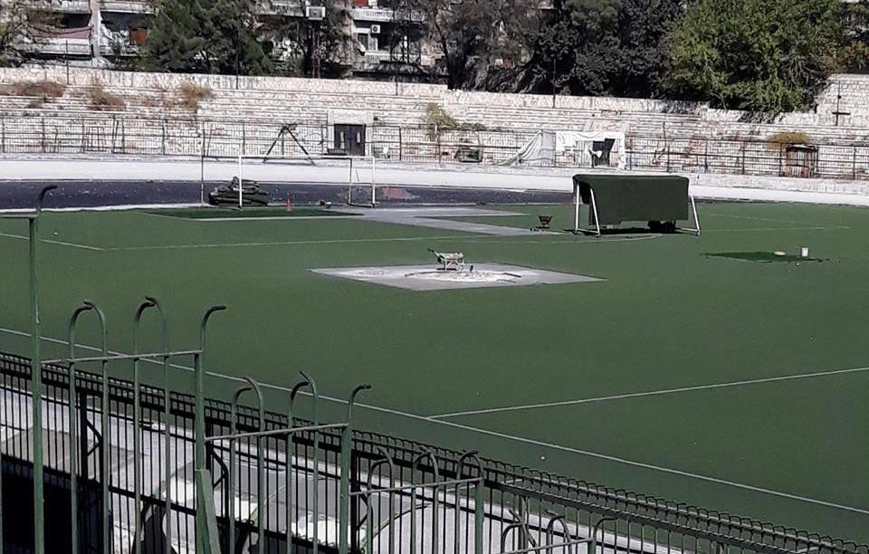20 مليون ل.س تكلفة صيانة الملعب البلدي بحلب والتسليم خلال شهرين