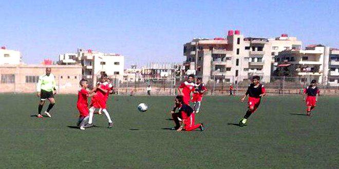العربي يحرز لقب بطولة السويداء بكرة القدم للفئات العمرية الصغيرة