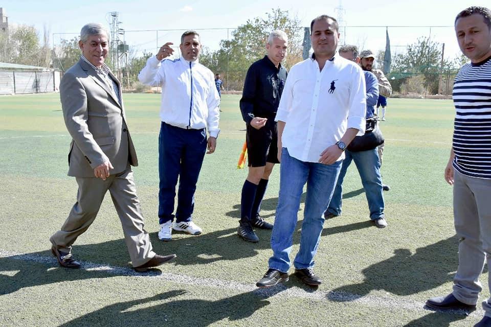 انطلاق بطولة كأس أمين فرع ريف دمشق للحزب بكرة القدم