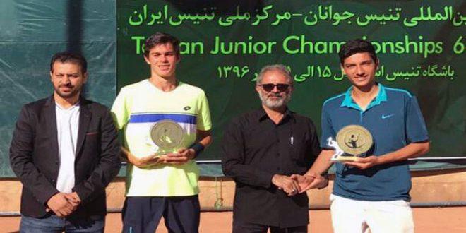 سوري وإيطالي يحرزان لقب الزوجي في بطولة طهران الدولية لكرة المضرب
