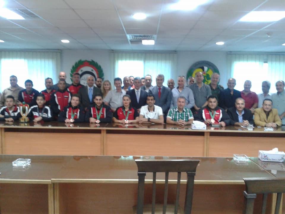 المكتب التنفيذي للاتحاد الرياضي يكرّم أبطال الدورة الأسيوية وبطل العرب بالسنوكر