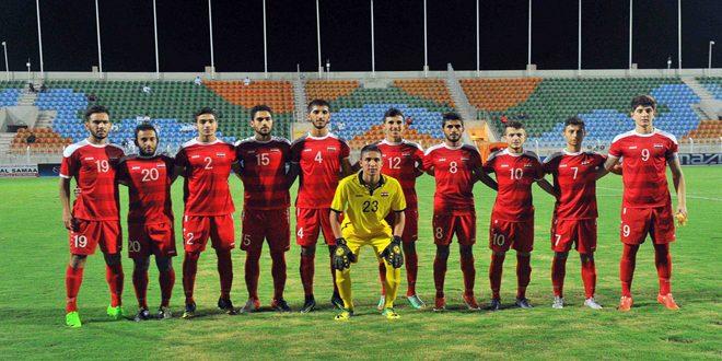 قائمة نهائية للاعبي منتخب شباب سورية لكرة القدم