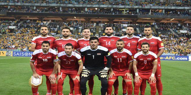 فيفا يشيد بمنتخب سورية: قدم أداء مميزا يبشر بمستقبل أفضل للكرة السورية