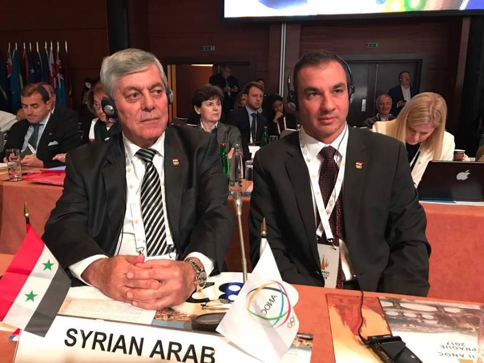 مشاركة سورية فاعلة في اجتماعات اتحاد اللجان الأولمبية (الأنوك)
