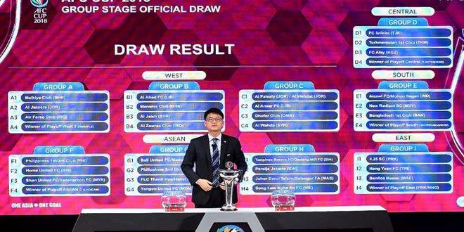 الجيش والوحدة في المجموعتين الثانية والثالثة بمسابقة كأس الاتحاد الآسيوي