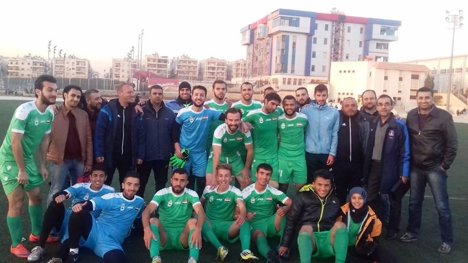 الحرية يحسم تأهله إلى نهائيات دوري الدرجة الأولى لكرة القدم