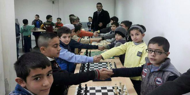اختتام البطولة المدرسية للشطرنج لمرحلة التعليم الأساسي بالسويداء
