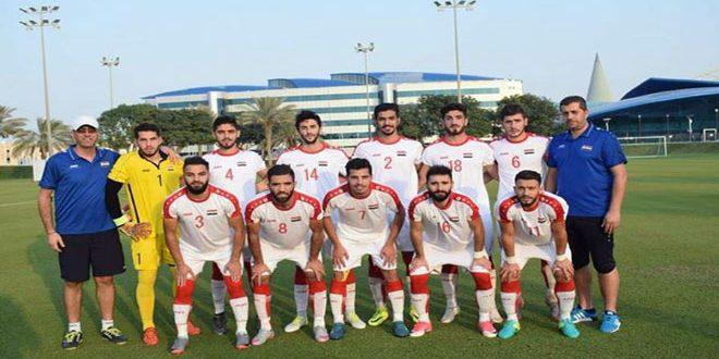 منتخب سورية الأولمبي لكرة القدم يبدأ معسكرا داخليا