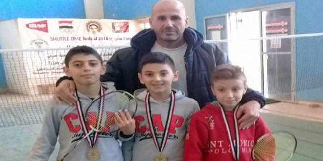 مدرسة شادي آصف حبيب تحرز المركز الأول في بطولة مدارس اللاذقية للريشة الطائرة