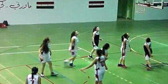 فوز حطين والساحل على محردة وتشرين في دوري كرة السلة للسيدات