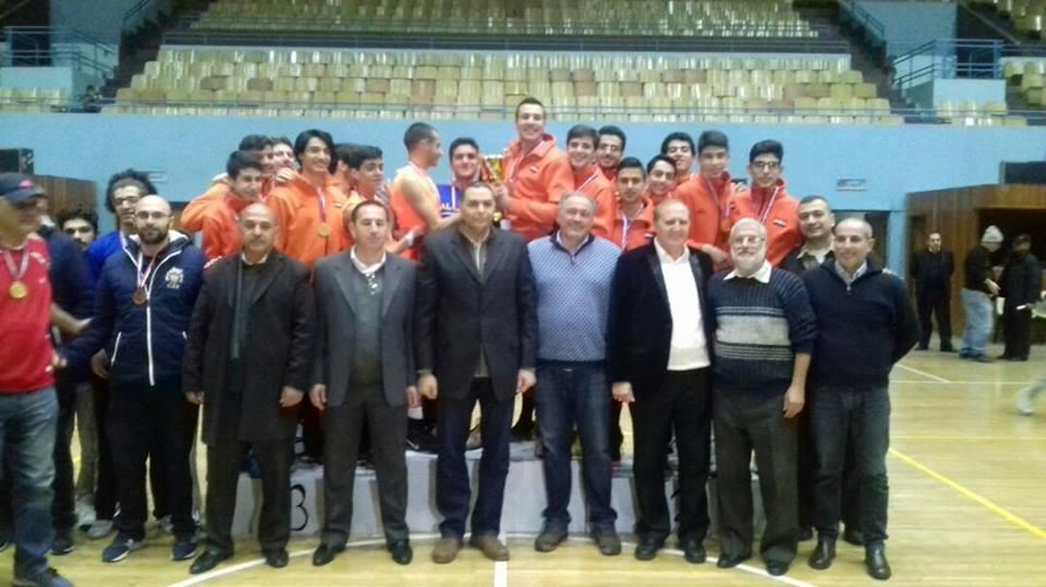 فريق الوحدة للناشئين بكرة السلة يحتفظ بلقبه بطلا للمرة الثالثة على التوالي