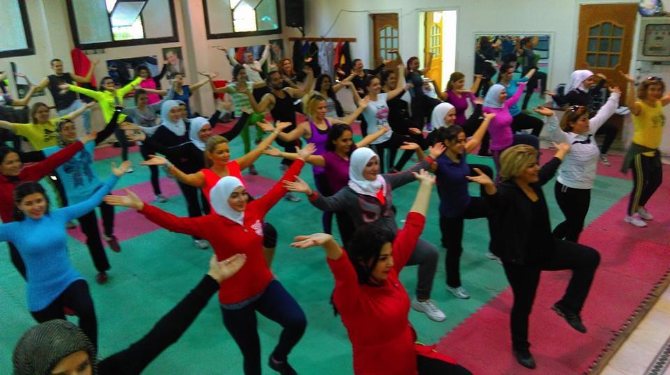 دورة إعداد مدربين ومدربات للايروبيك في دمشق