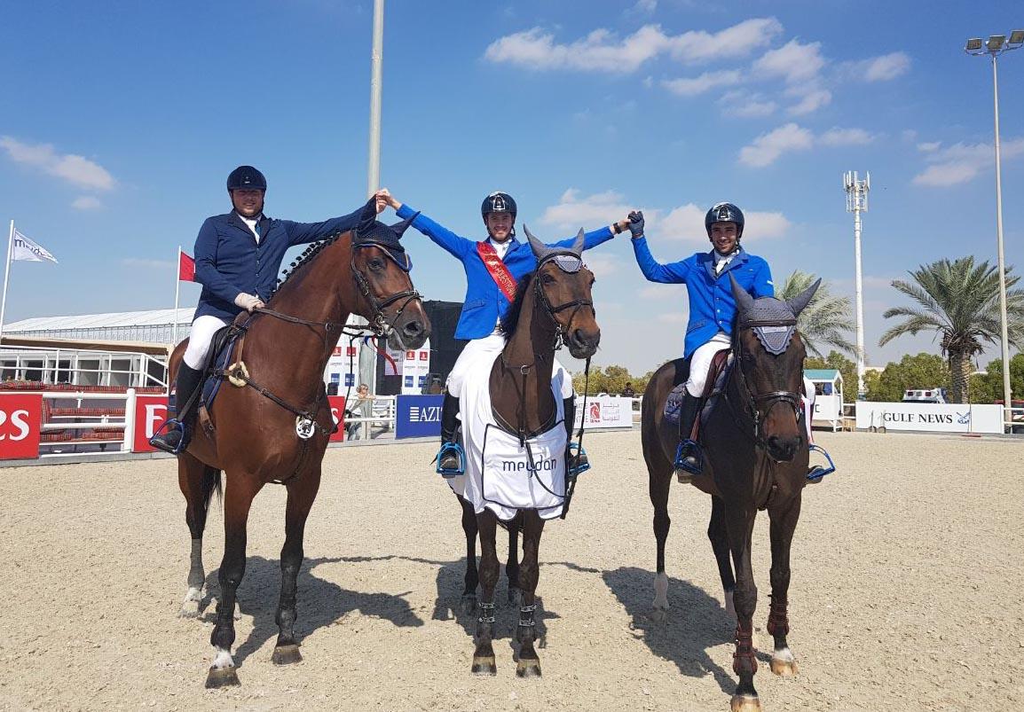 نتائج جيدة لفرساننا في دورة دبي الدولية