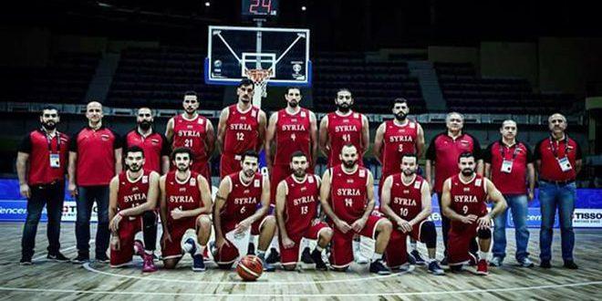منتخب كرة السلة يلتقي  نظيره اللبناني ضمن التصفيات المؤهلة لكأس العالم