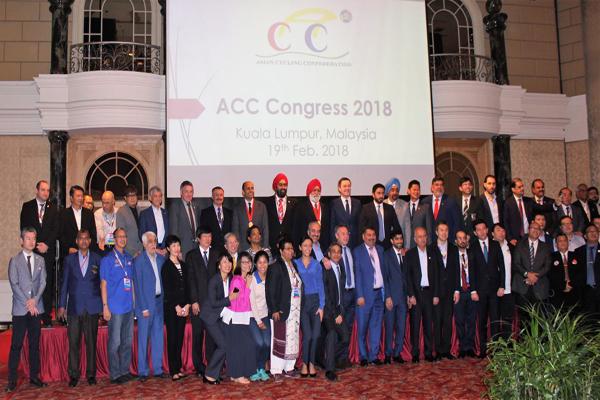 مشاركة ناجحة لاتحاد الدراجات في اجتماعات الاتحاد الآسيوي في ماليزيا