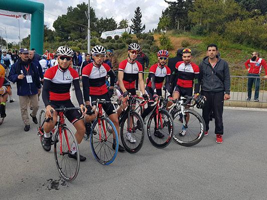 منتخب الدراجات نافس بقوة في طواف الجائزة الكبرى الدولية في الجزائر