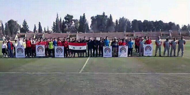 انطلاق دوري محافظة الحسكة لكرة القدم للأشبال والناشئين